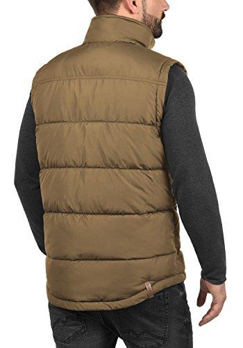 Alto 5075 Denneb Solid Hombre Cuello para Acolchado De Plumas Sepia Chaleco con zddPwC