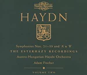 Haydn: Symphonies 21-39
