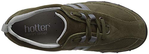 Leanne loden Sneaker Green Donna Hotter 028 Basse q8S7w7F
