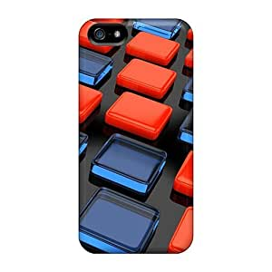 Iphone 5/5s ZgkbzQT1354qddAa Orange And Green Tpu Silicone Gel Case Cover. Fits Iphone 5/5s by lolosakes