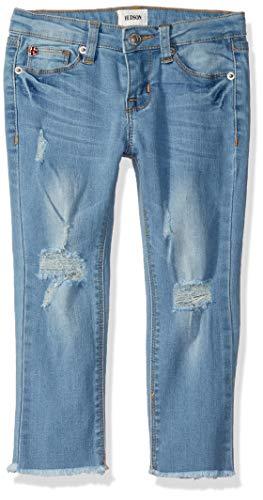 HUDSON Girls' Big Skinny Crop Pant, Vintage, 16 - Hudson Vintage Jeans