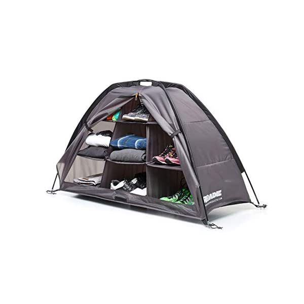 Camping Organizer with Zippered Flap