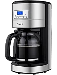 Aicok Coffee Programmable Reusable Stainless Basic Facts