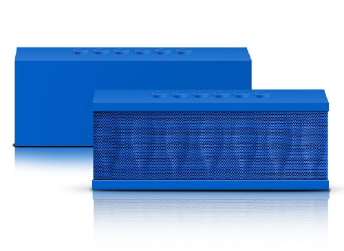 Photive CYREN Portable Wireless Bluetooth Speaker with Built in Speakerphone 8 hour Rechargeable Battery (Blue)]()