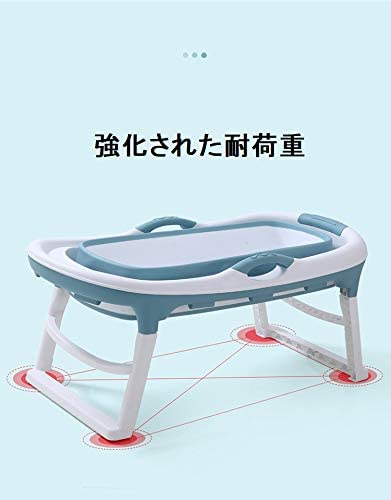 バスタブ 折り畳み式浴槽折りたたみ式浴槽、大人用浴槽、多機能蓋 (ピンク)