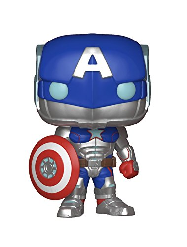 Funko Pop Games: Marvel-Contest of Champions-Civil Warrior Collectible Figure