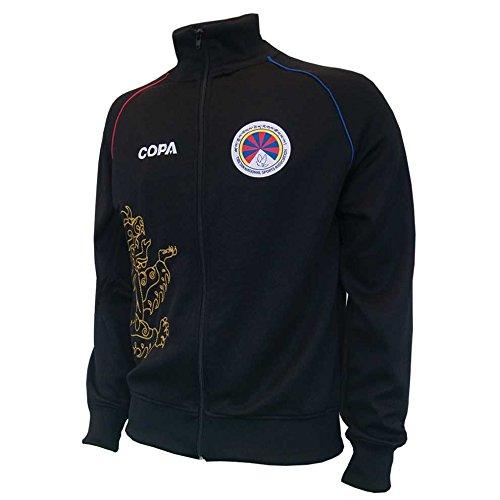 2011-12 Tibet Copa Training Jacket (Black) B01MQSOARNBlack Small Adults