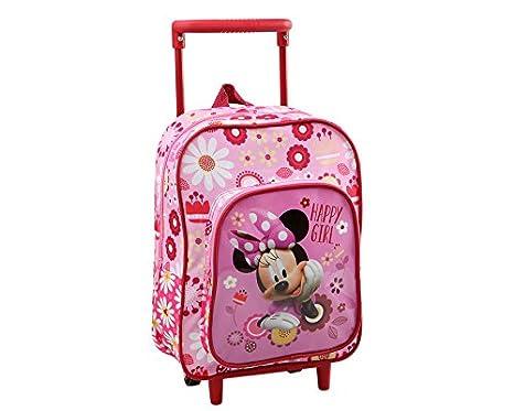 Atosa 33184 - Mochila con ruedas niña Minnie espuma 30 cm: Amazon.es: Juguetes y juegos