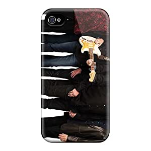 Excellent Cell-phone Hard Cover For Iphone 4/4s (fGQ7072YUXH) Allow Personal Design Realistic The Beatles Pictures