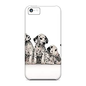 Protective Tpu Case With Fashion Design For Iphone 5c (dalmatians)