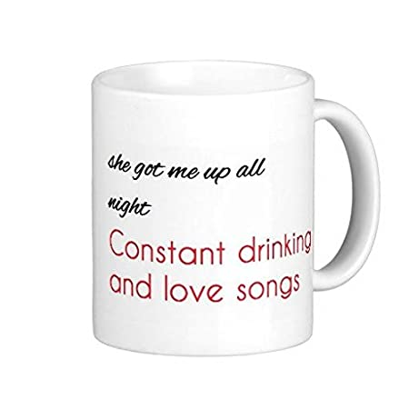 J Cole Power Trip Lyrics Coffee Mug 11 Oz Amazoncouk Kitchen Home