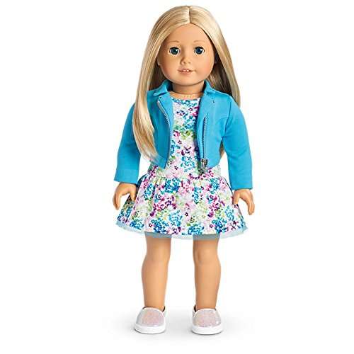 American Girl Truly Me Doll #27 - Blue Eyes, Layered Blond Hair, Light Skin Tone by American Girl