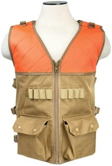VISM NC Star CHV2942TO NcStar, Hunting Vest/Blaze Orange & Tan