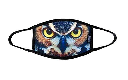 [dolly2u Creative Mouth Masks for Women Breathable Anti Dust Masks] (Pj Masks Owlette Halloween Costume)