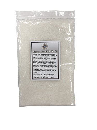 Prestige Import Group - Crystal Gel 70% RH Humidification Beads for Humidors - 8 oz Bag
