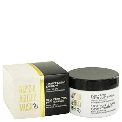 ALYSSA ASHLEY MUSK by Alyssa Ashley for Women BODY CREAM 8.5-Ounce, 0.25 Box (Body Lotion Alyssa Ashley)