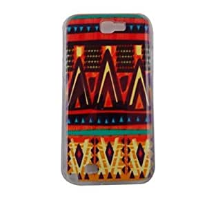 LZX The Geometry of Beautiful Pattern PC Back Case for Samsung Note 2 N7100