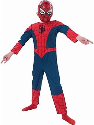 Disfraz de araña super héroe Spiderman para disfraz de los héroes ...