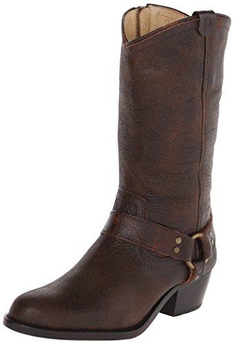 FRYE Wyatt Harness Western Boot (Little Kid/Big Kid),Dark Brown,11.5 M Us Little (Frye Wyatt Boot)