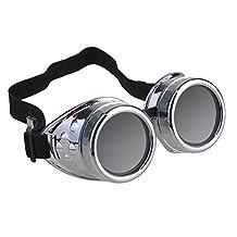 SXTSPO Vintage Steampunk Goggles Glasses Welding Cyber Punk Gothic