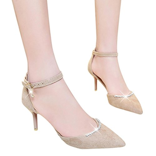 Heels Thin Shoes Inkach Sandals High Buckle Wrap Ankle Platform Khaki Summer Womens Sandals wPPrtR4Xq