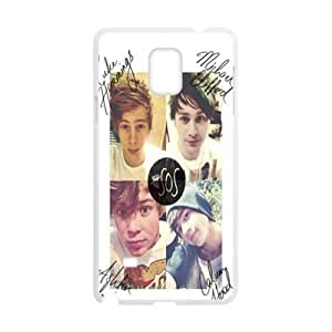 DAZHAHUI 5 SECONDS OF SUMMER Phone Case for Samsung Galaxy Note4 hjbrhga1544