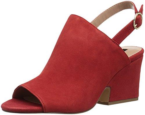 Heeled Red Sandal Edgar Women's kensie 6FRzF