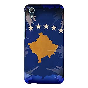 "Disagu Design Protective Case para HTC Desire 626G Dual Sim Funda Cover ""Kosovo"""