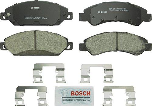 Bosch BC1092 QuietCast Premium Ceramic Front Disc Brake Pad Set -