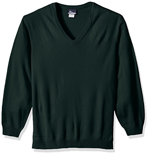 Classroom Mens Plus Size Adult Unisex Long Sleeve V-Neck Sweater 2xl-3xl