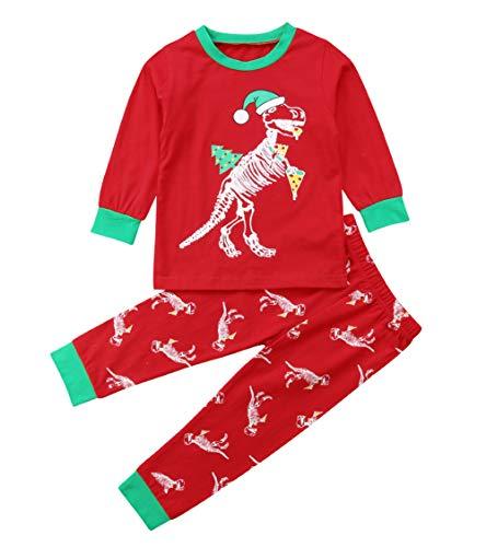 Christmas Dinosaur PJs