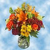 GlobalRose Fall Vase Flower Arrangements