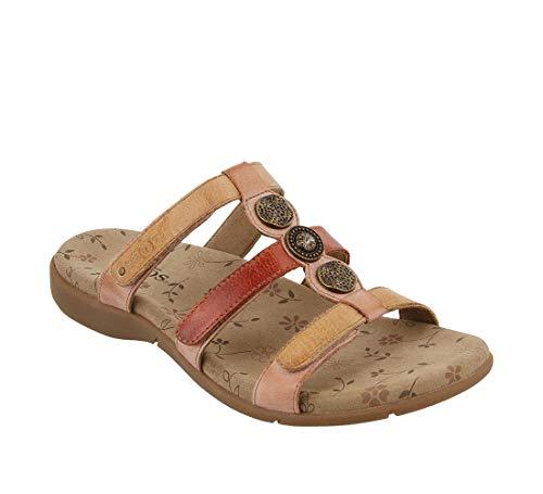Taos Footwear Women's Prize 3 Blush Multi Sandal 6 M -