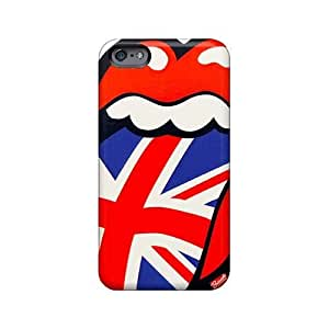 High Quality Phone Case For Iphone 6plus With Unique Design High Resolution Rolling Stones Series AlissaDubois