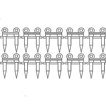 71341601 BU225 Ten (X10) Grain Head Cutter Bar Double Guards Made to Fit Gleaner Models 700 7000 7200 800 8000 8200