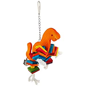 Paradise 8 by 10-Inch Dinosaur Pet Toy, Large 108
