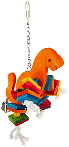 Paradise 8 by 10-Inch Dinosaur Pet Toy, Large