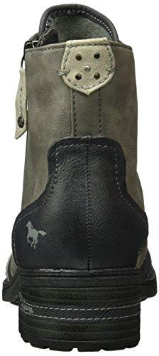 Mustang 1229-502, Botines para Mujer Multicolor (Schwarz/grau)