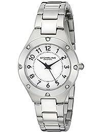Stuhrling Original Women's 548.01 Symphony Analog Display Quartz Silver Watch
