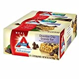 Atkins Advantage Atkins Advantage Granola Bar, Chocolate Chip 12 ct (Quantity of 2)