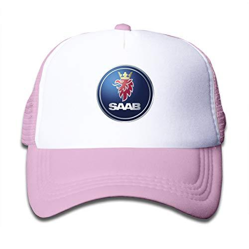 KAIFENG General Motors Saab Logo Fashion Peak Cap for Child Pink