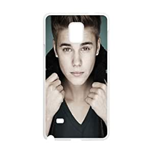 Justin Bieber Pop Collar Samsung Galaxy Note 4 Cell Phone Case White&Phone Accessory STC_073524