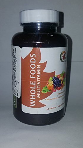 All Natural Multivitamin For Men and Women of All Ages - Contains Every Mineral, Vitamin and Nutrient the Human Body Needs - 20 Day Supply - Most Comprehensive Multivitamin Available