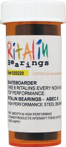 Ritalin Abec-5 Blue Bearings