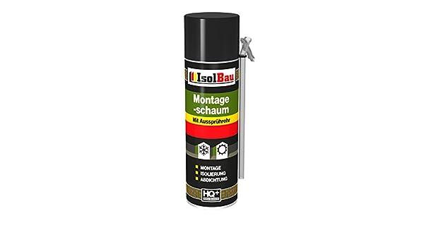 Espuma de montaje 1 lata 500 ml con aussprührohr 1 K Diseño Espuma de espuma de poliuretano adaptador Espuma: Amazon.es: Bricolaje y herramientas
