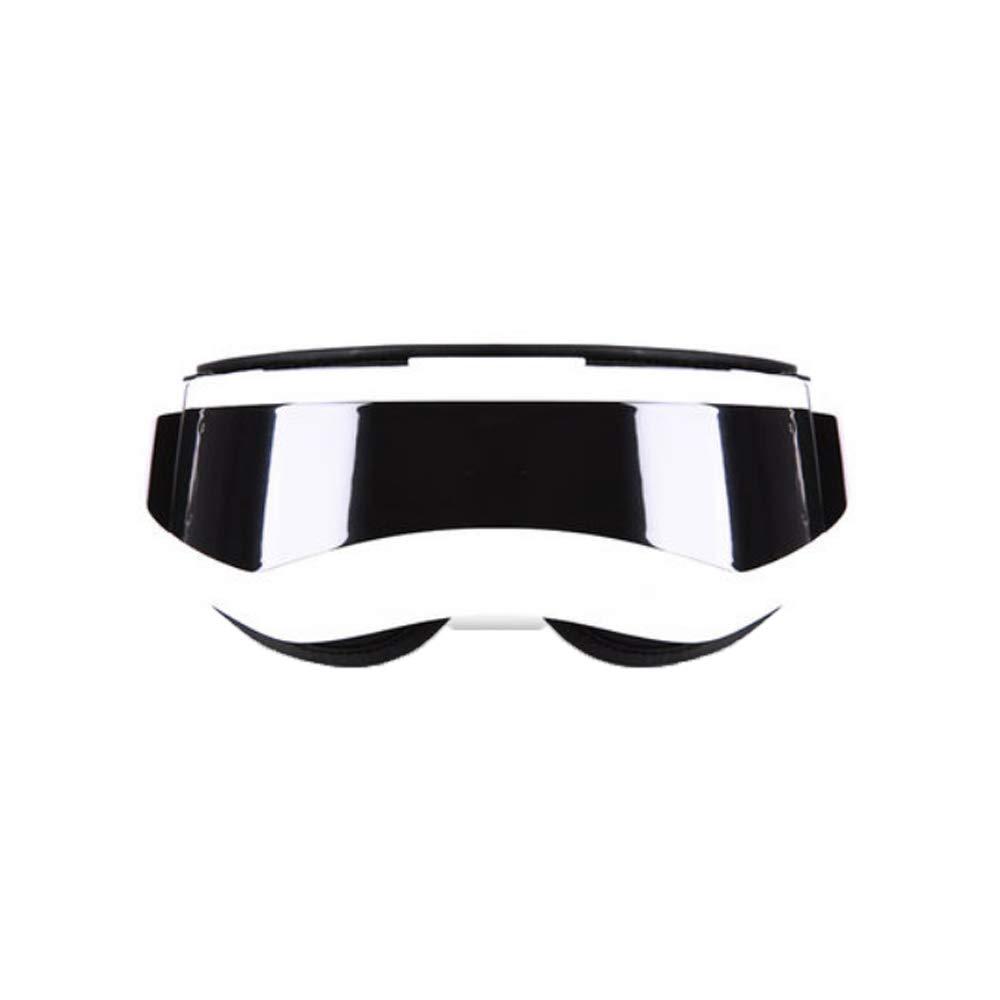 マッサージ - マッサージホット - コンプレッション疲労ダークサークルアイマスクビジョン (色 : Pearl White) B07MX7VSQ8 Pearl White
