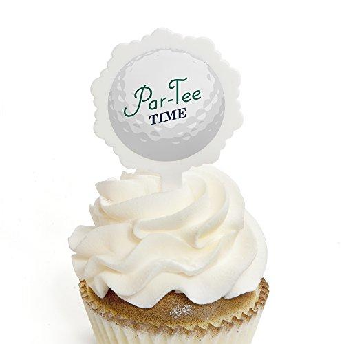 Par-Tee Time - Golf - Cupcake Picks with