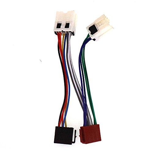 Autostereo ISO Car Radio Audio Wire Harness Cable Lead Wiring Loom Power Radio Connector Accessories ISO: