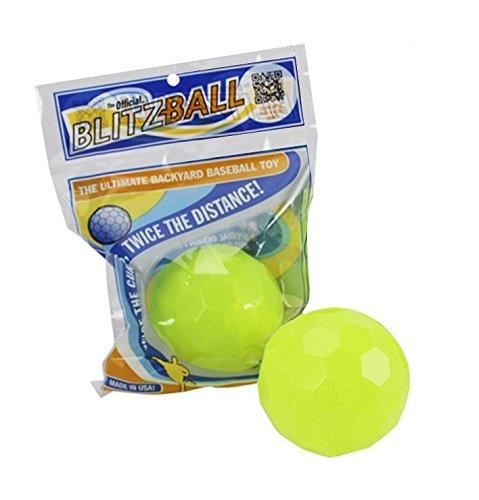 2 Pack BLITZBALL Plastic Baseball