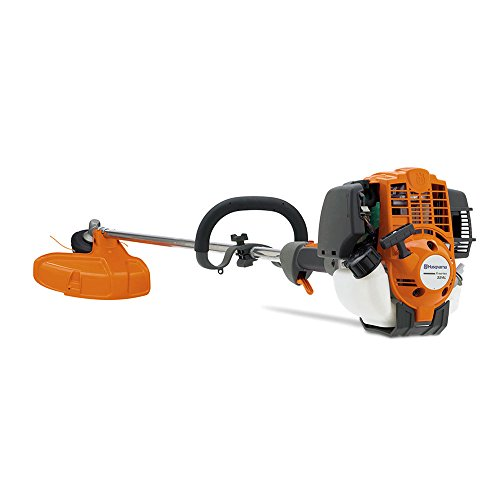 Straight Engine Shaft - Husqvarna 324L Straight Shaft Gas String Trimmer for Grass and Weeds